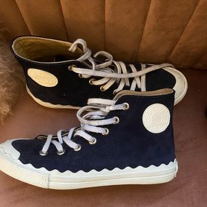 Authentic Chloe Kyle sneakers size 8